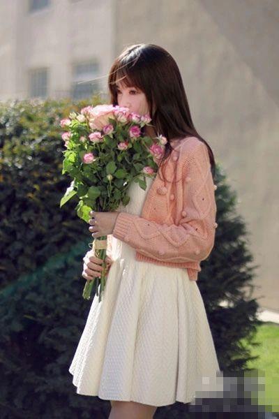 短款外套+连衣裙 秋季穿出完美比例